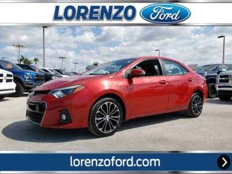2015 Toyota Corolla for sale at Lorenzo Ford in Homestead FL