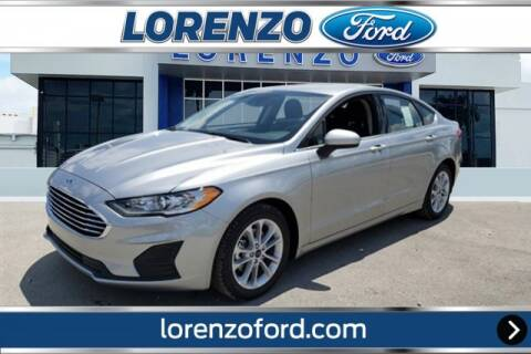 2020 Ford Fusion Hybrid for sale at Lorenzo Ford in Homestead FL