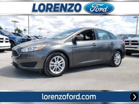2018 Ford Focus SE for sale at Lorenzo Ford in Homestead FL