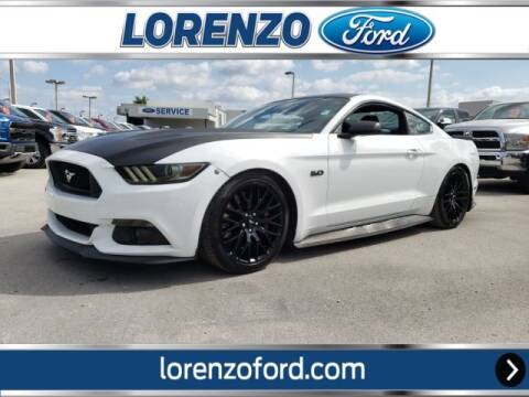 2015 Ford Mustang GT for sale at Lorenzo Ford in Homestead FL