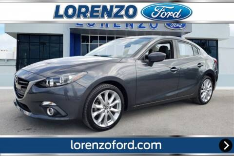 2016 Mazda MAZDA3 for sale at Lorenzo Ford in Homestead FL
