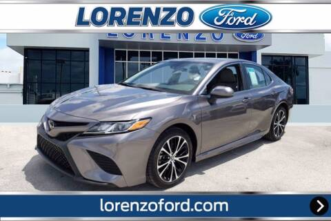 2019 Toyota Camry for sale at Lorenzo Ford in Homestead FL