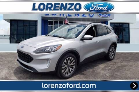 2020 Ford Escape Hybrid for sale at Lorenzo Ford in Homestead FL