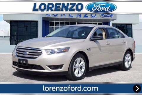 2017 Ford Taurus for sale at Lorenzo Ford in Homestead FL