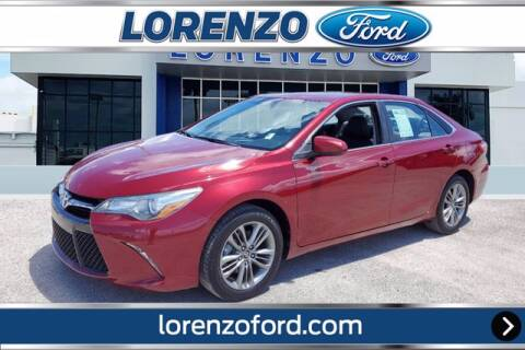 2016 Toyota Camry for sale at Lorenzo Ford in Homestead FL