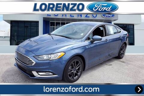 2018 Ford Fusion for sale at Lorenzo Ford in Homestead FL