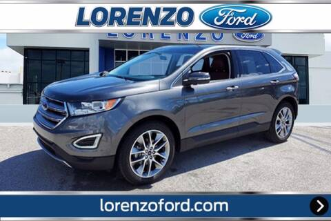 2018 Ford Edge for sale at Lorenzo Ford in Homestead FL