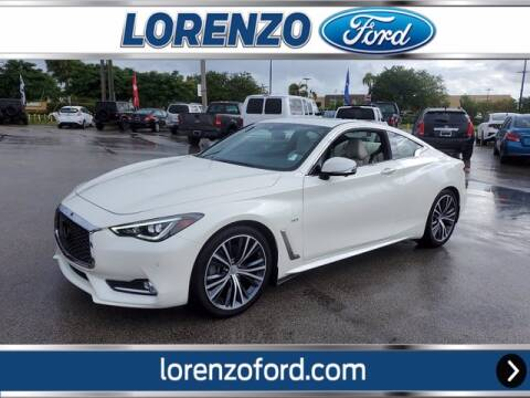 2019 Infiniti Q60 for sale at Lorenzo Ford in Homestead FL
