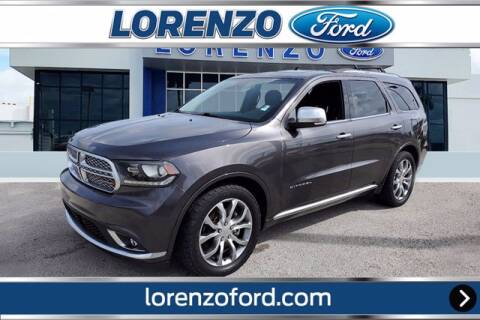 2016 Dodge Durango for sale at Lorenzo Ford in Homestead FL