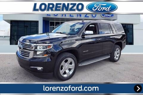 2015 Chevrolet Tahoe for sale at Lorenzo Ford in Homestead FL
