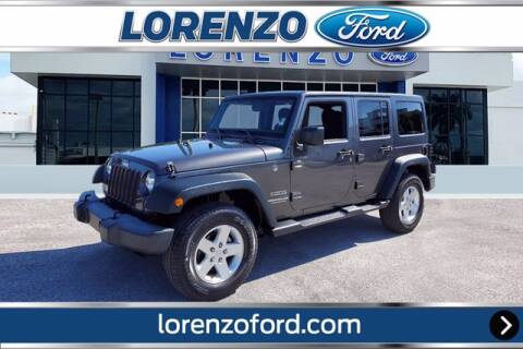 2016 Jeep Wrangler Unlimited for sale at Lorenzo Ford in Homestead FL