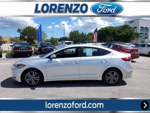 2017 Hyundai Elantra for sale at Lorenzo Ford in Homestead FL