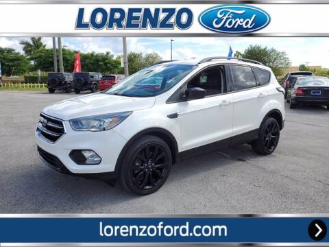 2017 Ford Escape for sale at Lorenzo Ford in Homestead FL