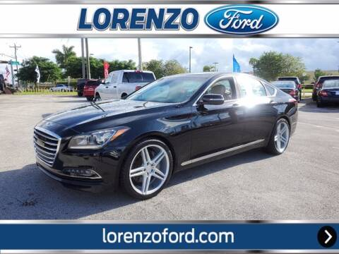 2016 Hyundai Genesis for sale at Lorenzo Ford in Homestead FL