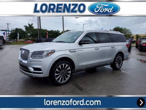 2019 Lincoln Navigator L for sale at Lorenzo Ford in Homestead FL