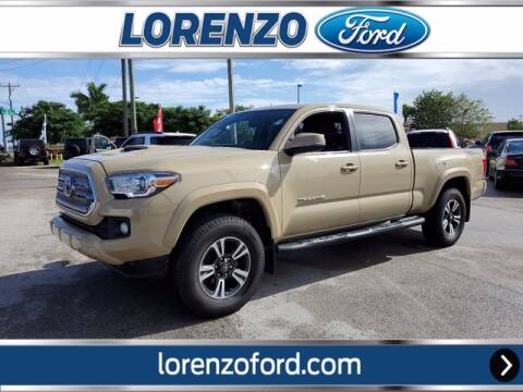 2016 Toyota Tacoma for sale at Lorenzo Ford in Homestead FL