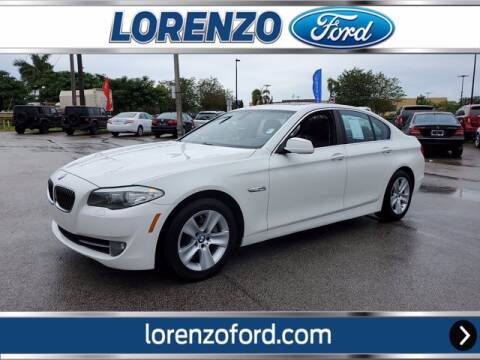 2011 BMW 5 Series for sale at Lorenzo Ford in Homestead FL