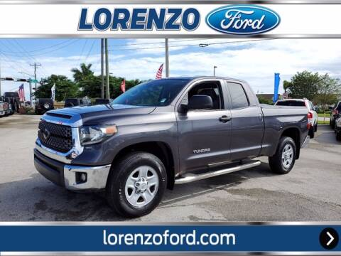 2018 Toyota Tundra for sale at Lorenzo Ford in Homestead FL