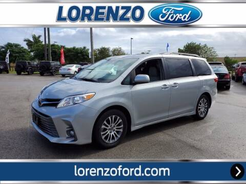2019 Toyota Sienna for sale at Lorenzo Ford in Homestead FL