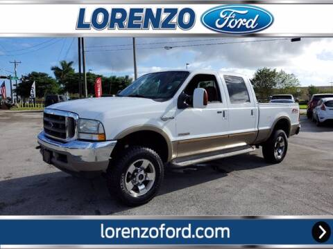 2004 Ford F-350 Super Duty for sale at Lorenzo Ford in Homestead FL