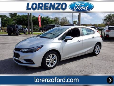 2018 Chevrolet Cruze for sale at Lorenzo Ford in Homestead FL