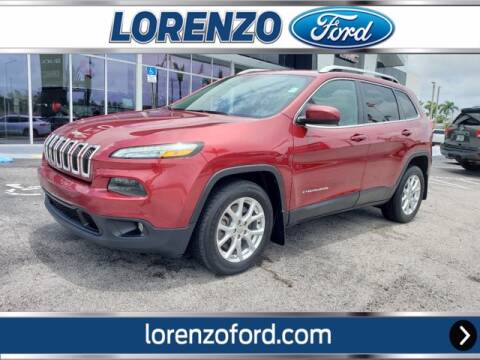 2016 Jeep Cherokee for sale at Lorenzo Ford in Homestead FL