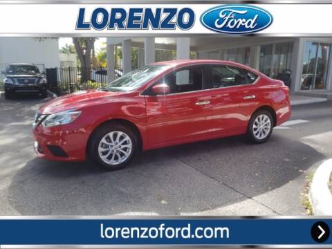 2018 Nissan Sentra for sale at Lorenzo Ford in Homestead FL