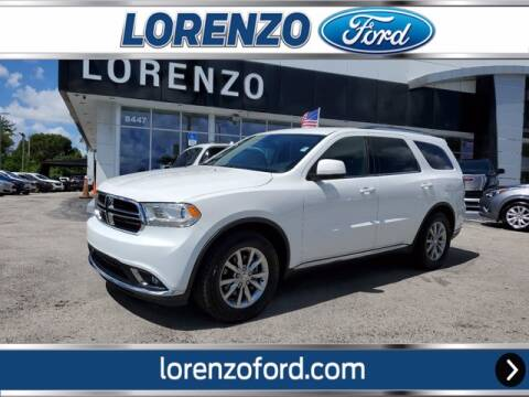 2018 Dodge Durango for sale at Lorenzo Ford in Homestead FL