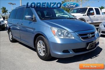 2005 Honda Odyssey for sale in Homestead, FL