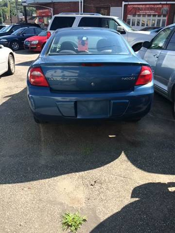 2004 Dodge Neon for sale in Taftville, CT