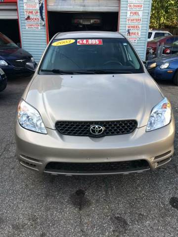 2003 Toyota Matrix for sale in Taftville, CT