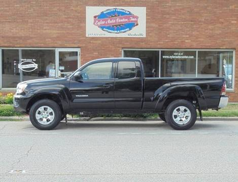 2012 Toyota Tacoma for sale in Rushville, IL
