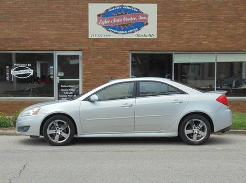 2010 Pontiac G6 for sale in Rushville, IL