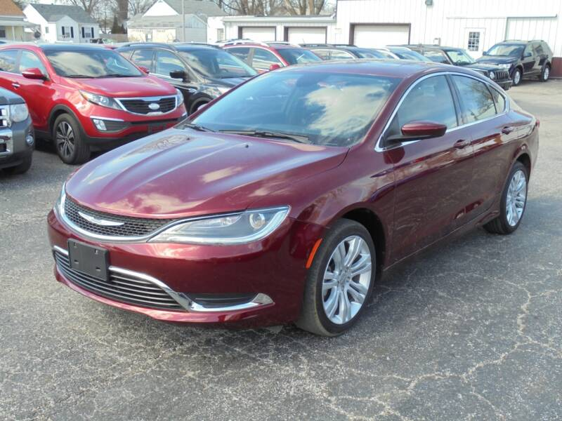 2016 Chrysler 200 Limited 4dr Sedan - Rushville IL