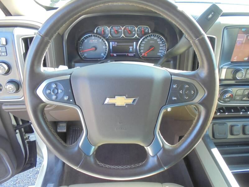 2014 Chevrolet Silverado 1500 4x4 LTZ Z71 4dr Crew Cab 6.5 ft. SB - Rushville IL
