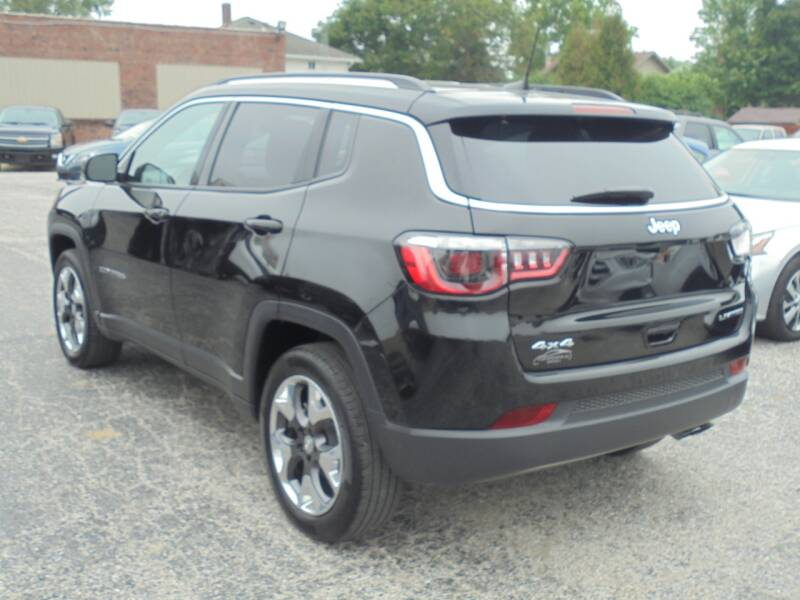 2020 Jeep Compass 4x4 Limited 4dr SUV - Rushville IL