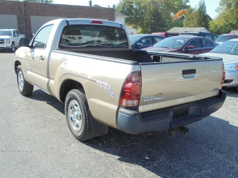 2007 Toyota Tacoma 2dr Regular Cab 6.1 ft. SB (2.7L I4 4A) - Rushville IL