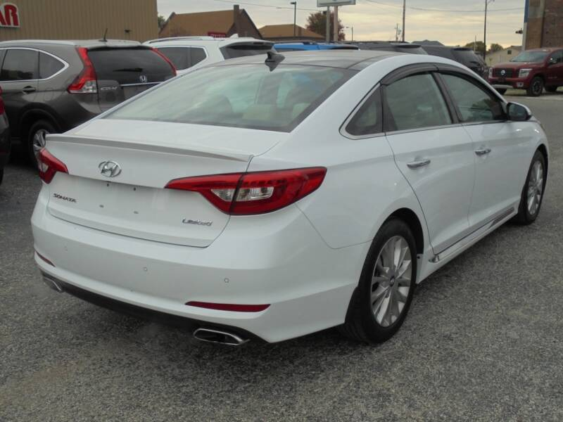 2015 Hyundai Sonata Limited 4dr Sedan - Rushville IL