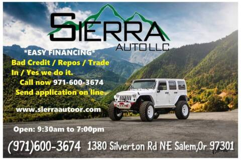Sierra Auto Finance >> Sierra Auto Llc Car Dealer In Salem Or