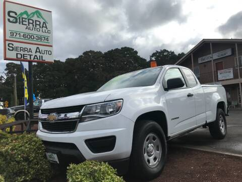 2016 Chevrolet Colorado for sale at SIERRA AUTO LLC in Salem OR