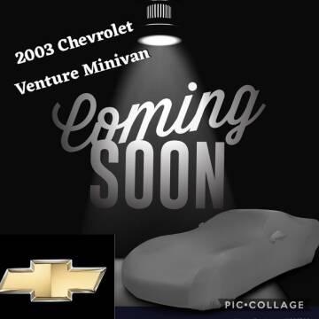 2003 Chevrolet Venture for sale at SIERRA AUTO LLC in Salem OR