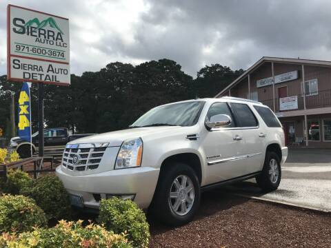 2007 Cadillac Escalade for sale at SIERRA AUTO LLC in Salem OR