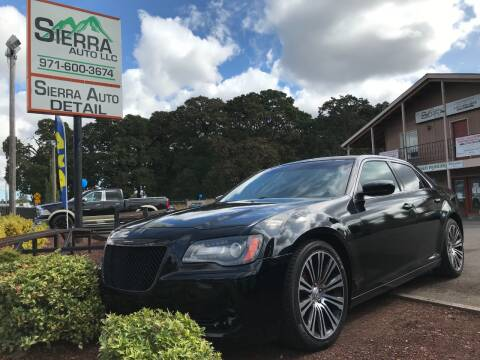 2013 Chrysler 300 for sale at SIERRA AUTO LLC in Salem OR