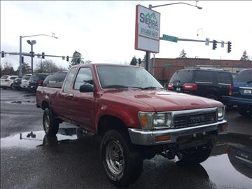 1991 Toyota Pickup for sale at SIERRA AUTO LLC in Salem OR