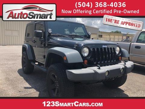 2009 Jeep Wrangler for sale in Harvey, LA