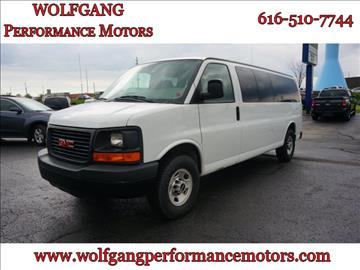 2009 GMC Savana Passenger for sale in Holland, MI