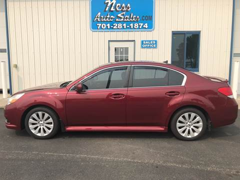 2012 Subaru Legacy for sale at NESS AUTO SALES in West Fargo ND