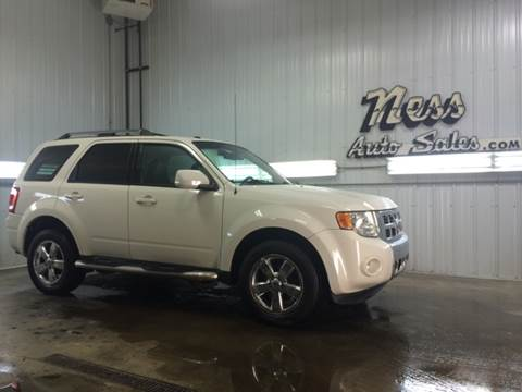 2010 Ford Escape for sale at NESS AUTO SALES in West Fargo ND