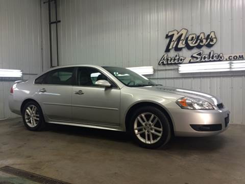 2012 Chevrolet Impala for sale at NESS AUTO SALES in West Fargo ND