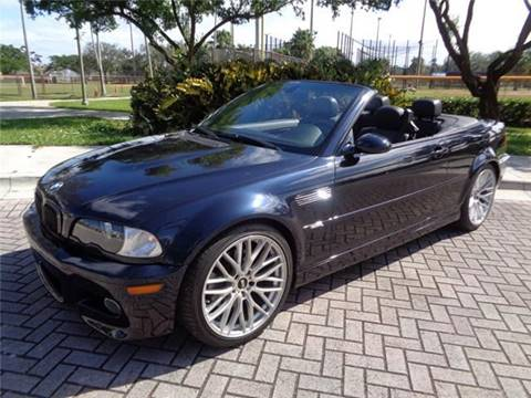 BMW M For Sale Carsforsalecom - Bmw 2004 convertible